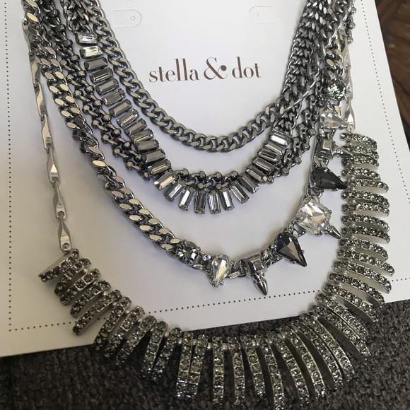 Stella & Dot Jewelry - Stella & Dot Amelia Sparkle necklace